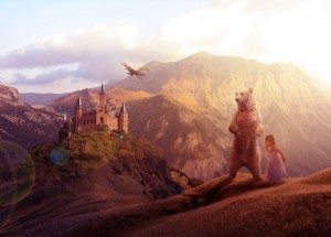 Fairy Tale Castle bear