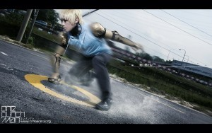 Genos cosplay widescreen