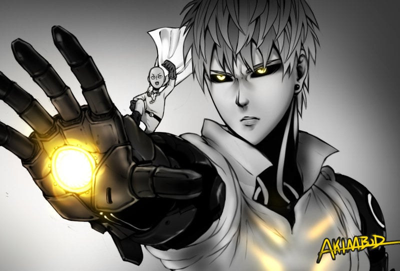 Genos with Saitama themes for PC