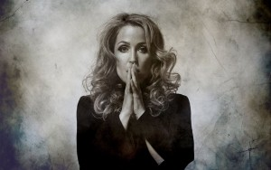 Gillian Anderson art pictures