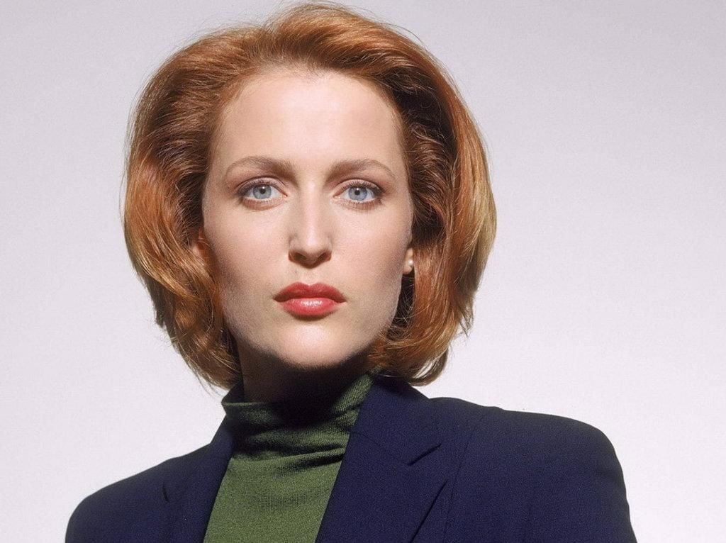 Gillian Anderson as Dana Scully The X Files 2016