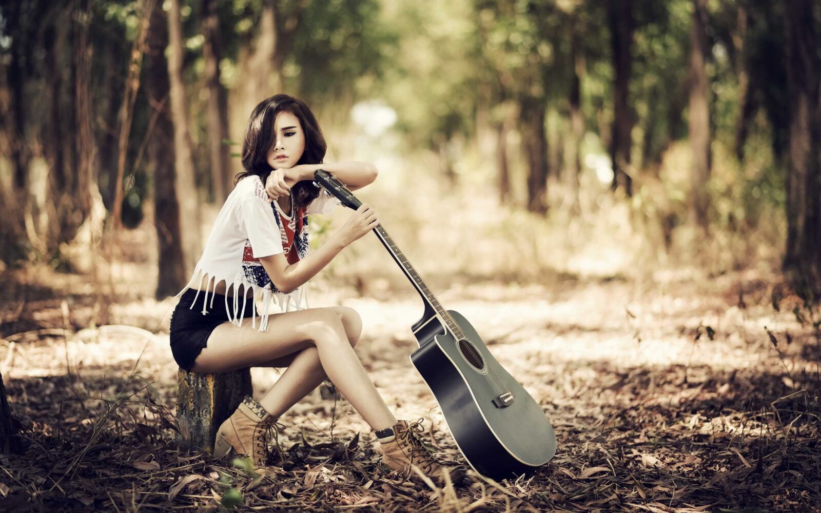 Wallpapers girl with guitar hd download for New best pic
