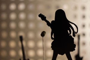 Girl with guitar wallpaper 1080p