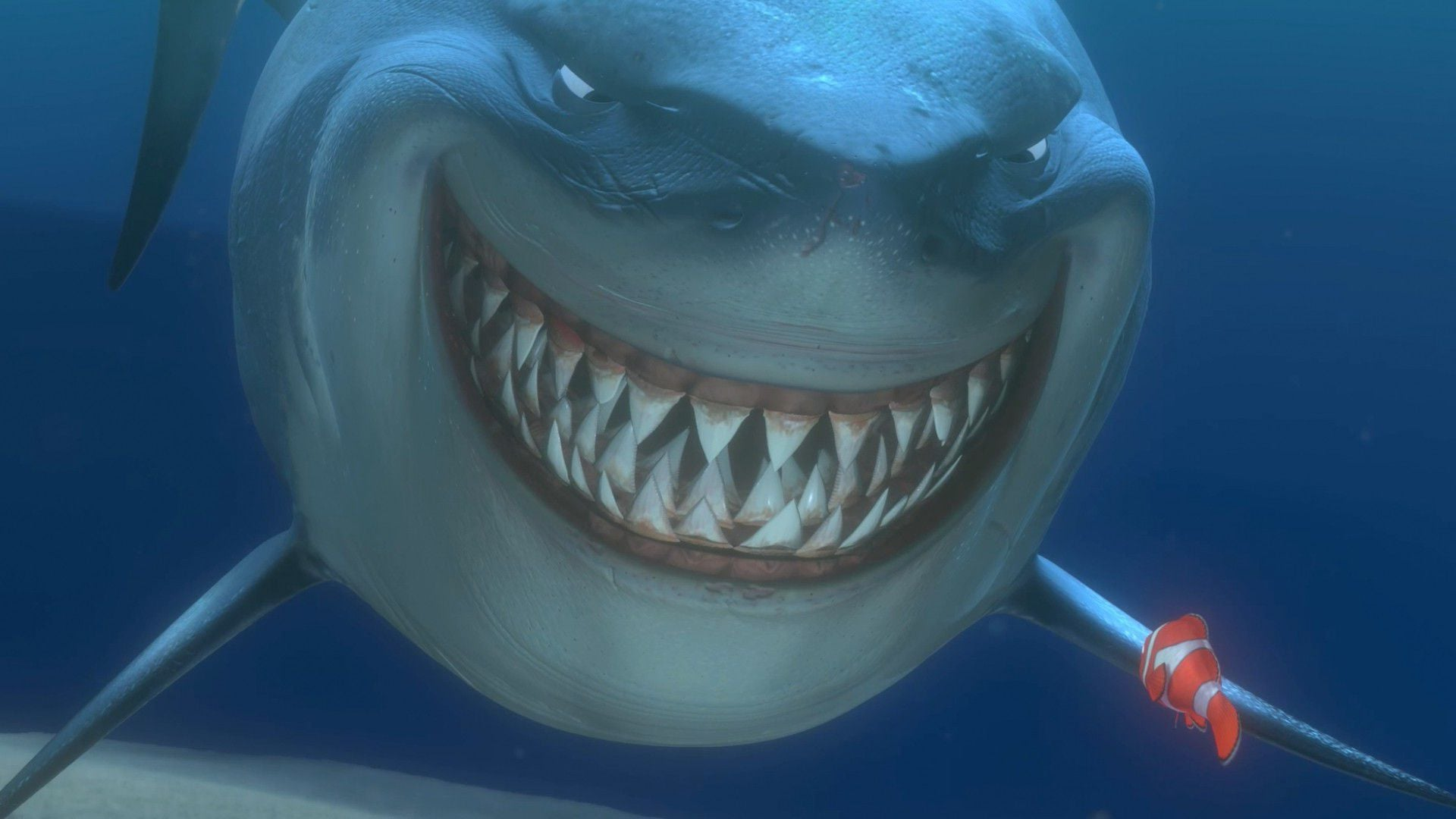 Great White Shark cartoon desktop HD