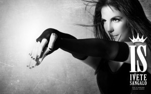 Ivete Sangalo bw High Quality wallpapers