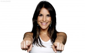 wide wallpaper of Ivete Sangalo smile