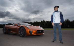 Jaguar C X75 Felipe Massa wallpaper HD