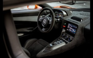 Jaguar C X75 interior pictures
