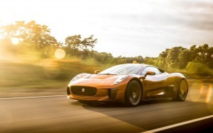 Jaguar C X75 sunrise motion new wallpapers