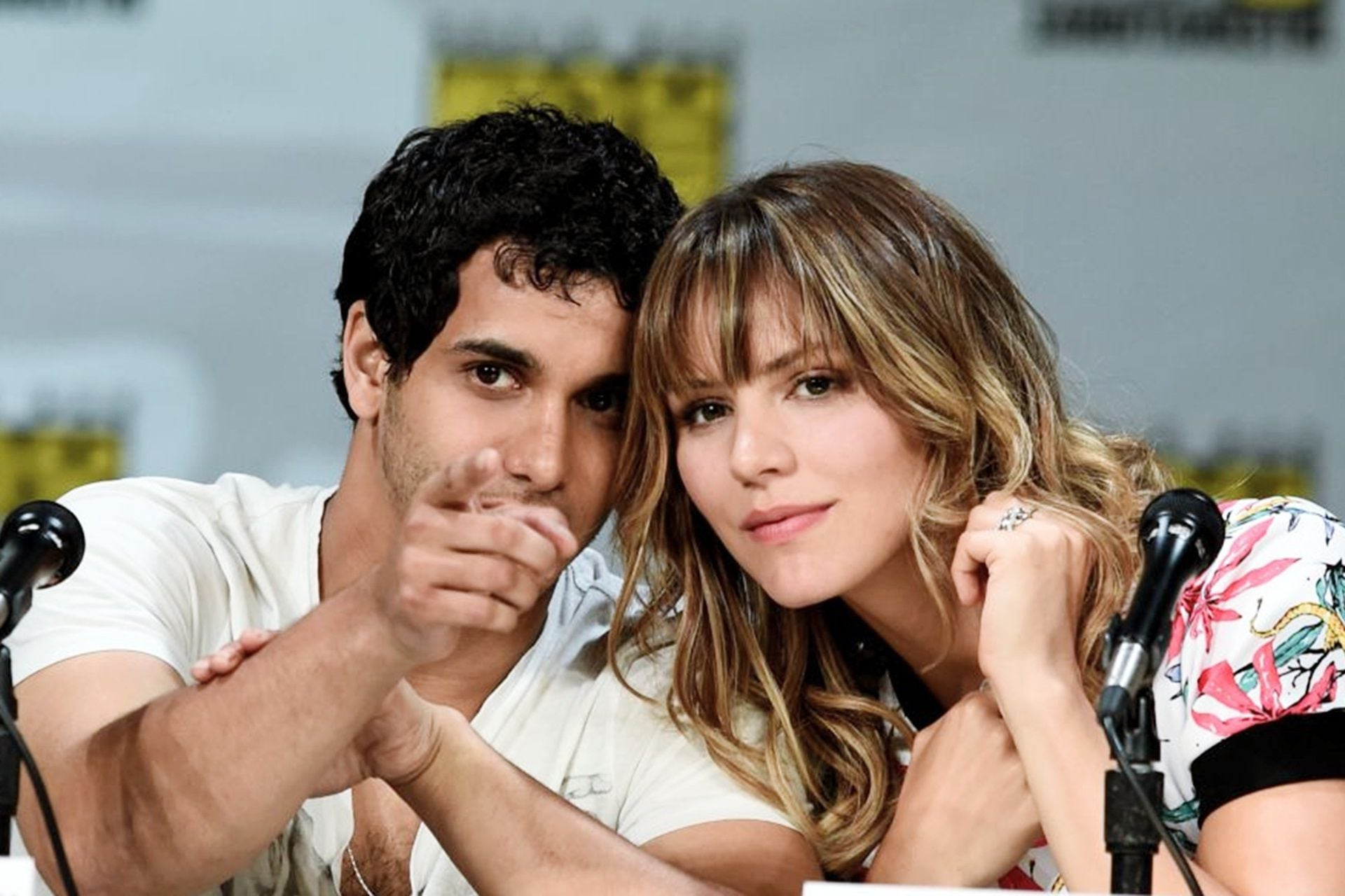 Katharine McPhee and Elyes Gabel Scorpion TV HD wallpapers
