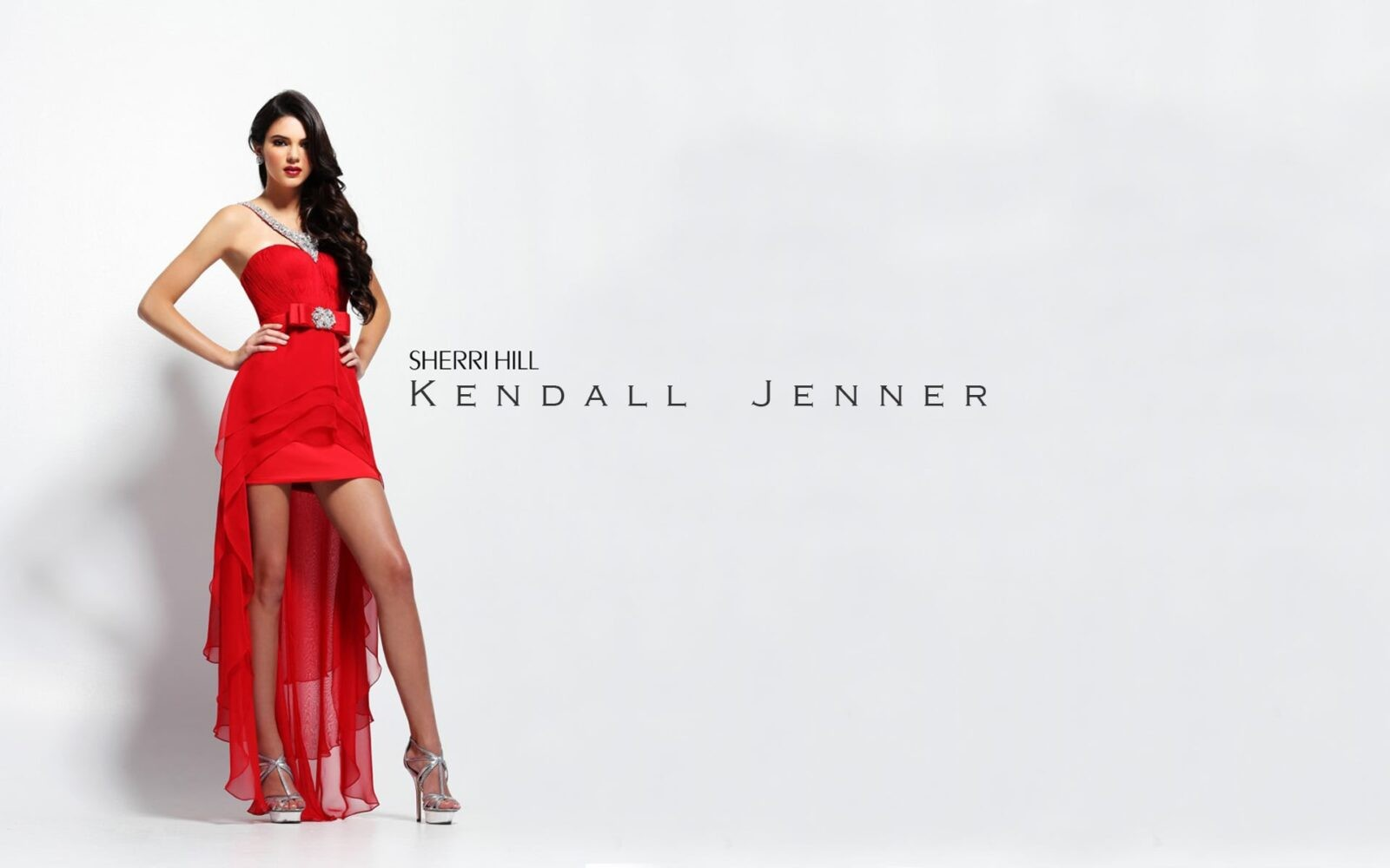 Kendall Jenner red dress themes for PC