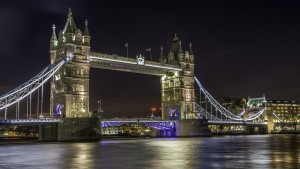 London Tower Bridge at night High Quality wallpapers