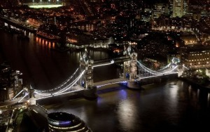 London Tower Bridge light free download