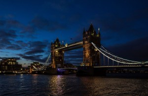 London Tower Bridge night wallpaper 1080p