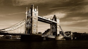 London Tower Bridge old desktop HD