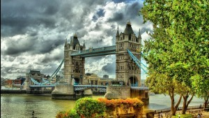 Wallpaper of London Tower Bridge summer