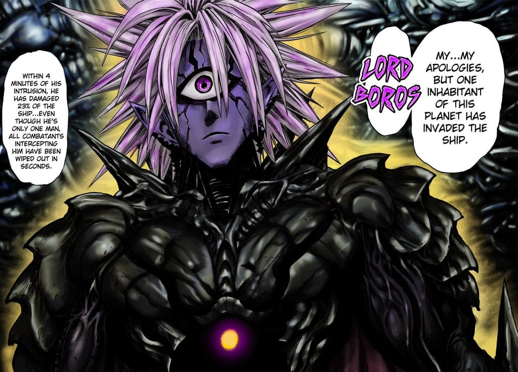 One Punch Man Lord Boros HD wallpapers