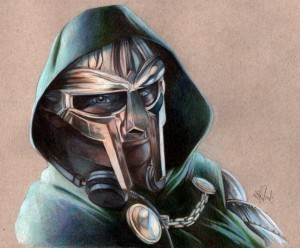 Metal Fingers MF Doom art wallpaper HD