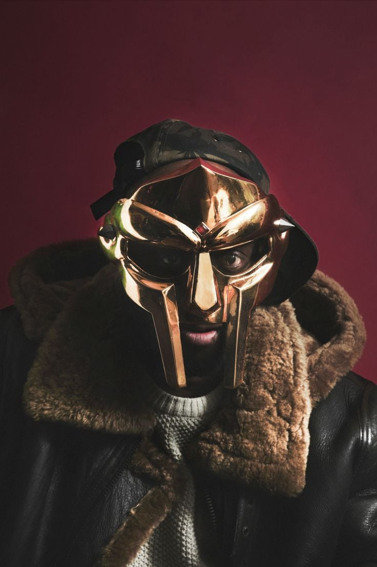 Metal Face MF Doom iPhone 2016