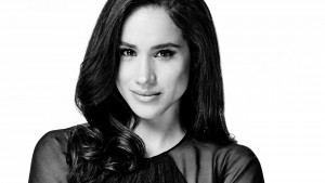 Meghan Markle bw High Quality wallpapers