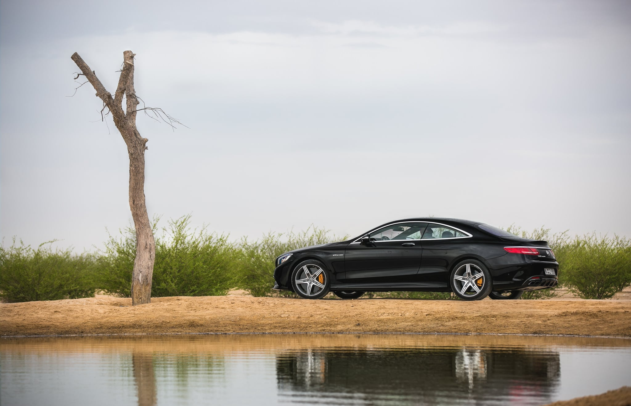 Mercedes AMG S63 Coupe wallpapers
