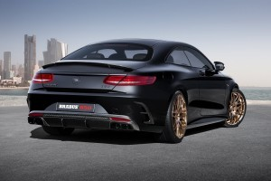 Mercedes AMG S63 Coupe Brabus back free download