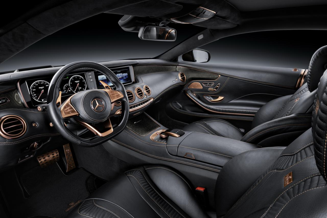 Wallpaper of Mercedes AMG S63 Coupe interior