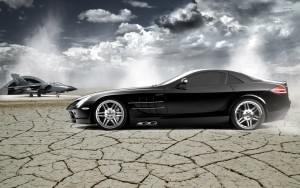 Mercedes SLR McLaren High Quality