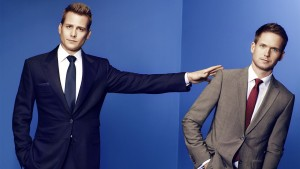 Patrick Adams with Gabriel Macht 1920x1080 wallpaper