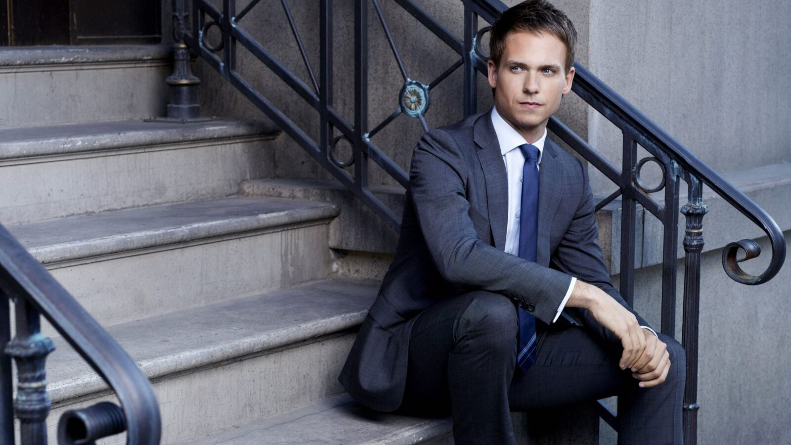 Patrick J. Adams 1920x1080 wallpaper