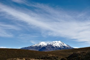 Ruapehu mountain wallpaper travel