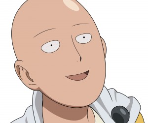 wallpaper of Saitama