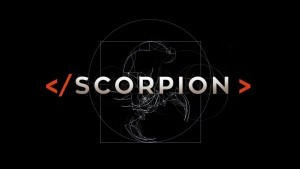 Scorpion TV logotype wallpaper 1080p