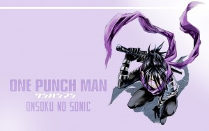 One Punch Man Sonic wallpaper