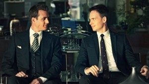 Suits TV Patrick J. Adams and Gabriel Macht pictures
