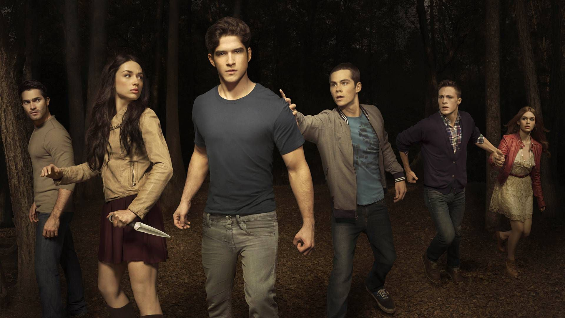 teen wolf tv series wallpapers hd download
