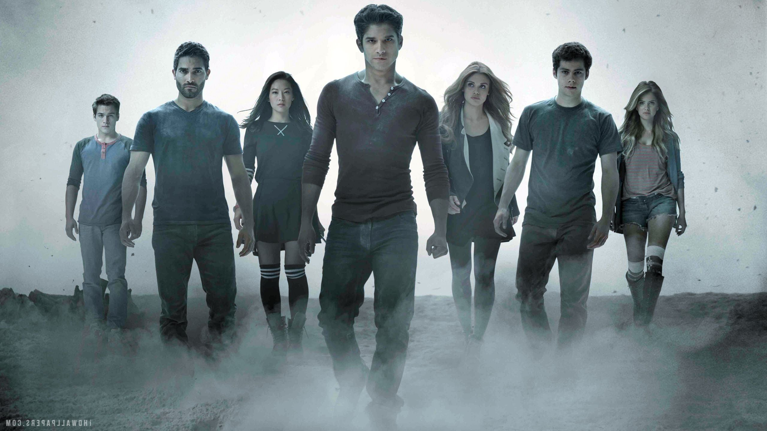 Teen Wolf TV team pictures