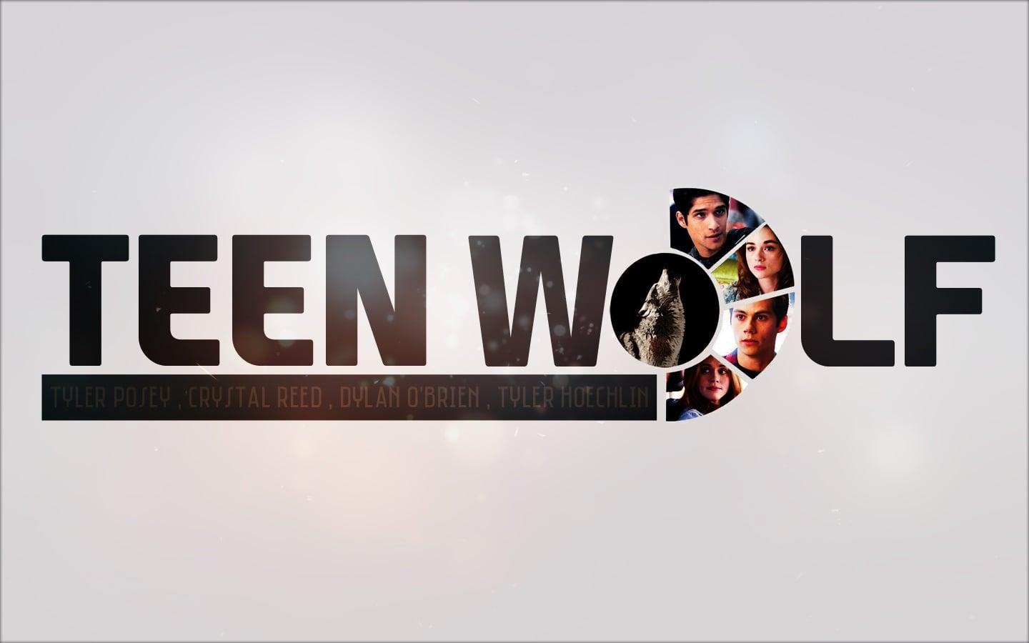 Word Teen Wolf TV logotype desktop HD