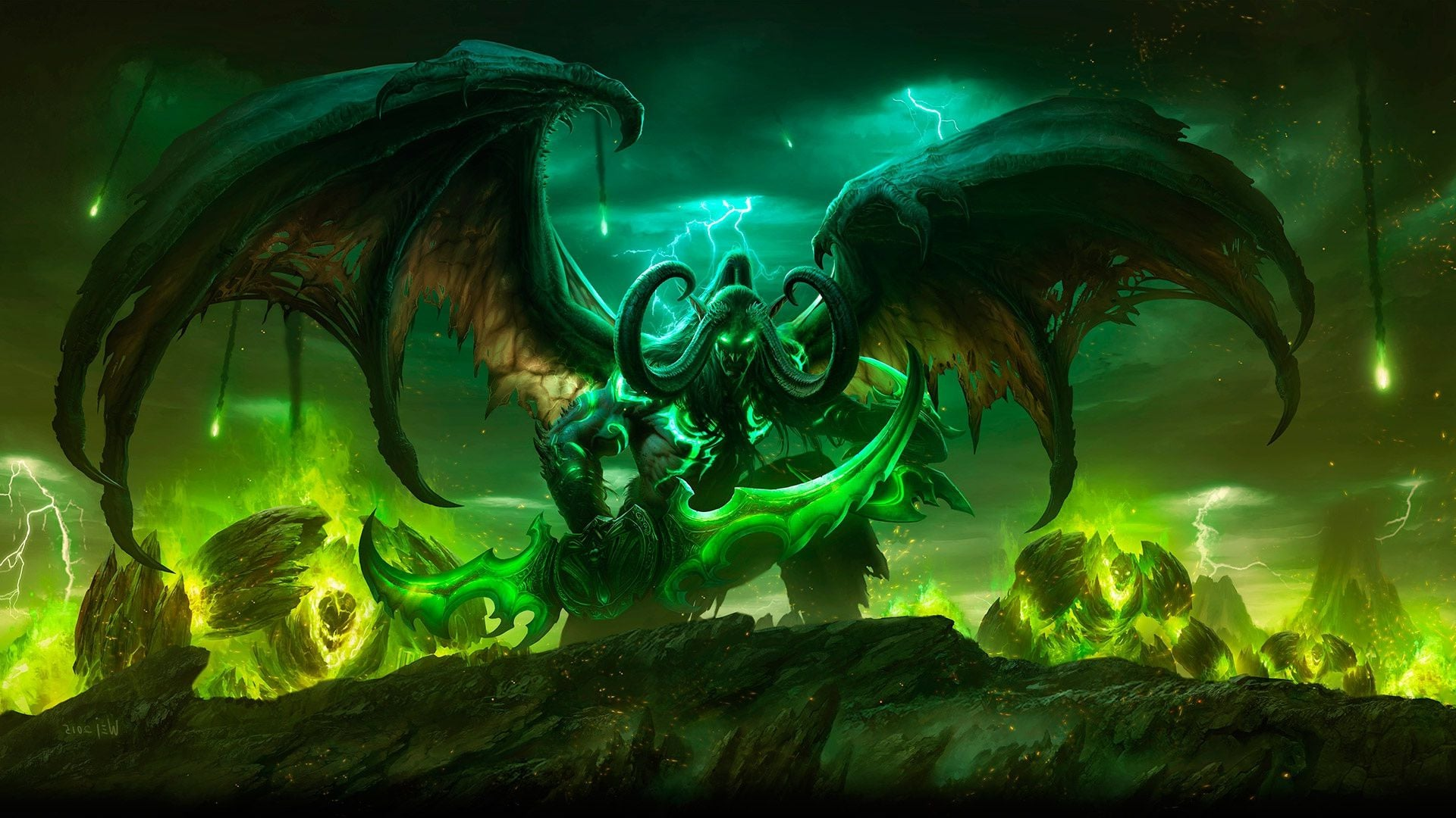 Group Of Wow Legion Wallpaper 1080p
