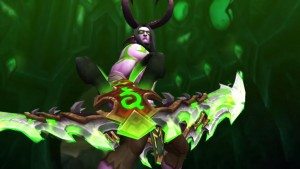 World Of Warcraft Legion demon hunter widescreen