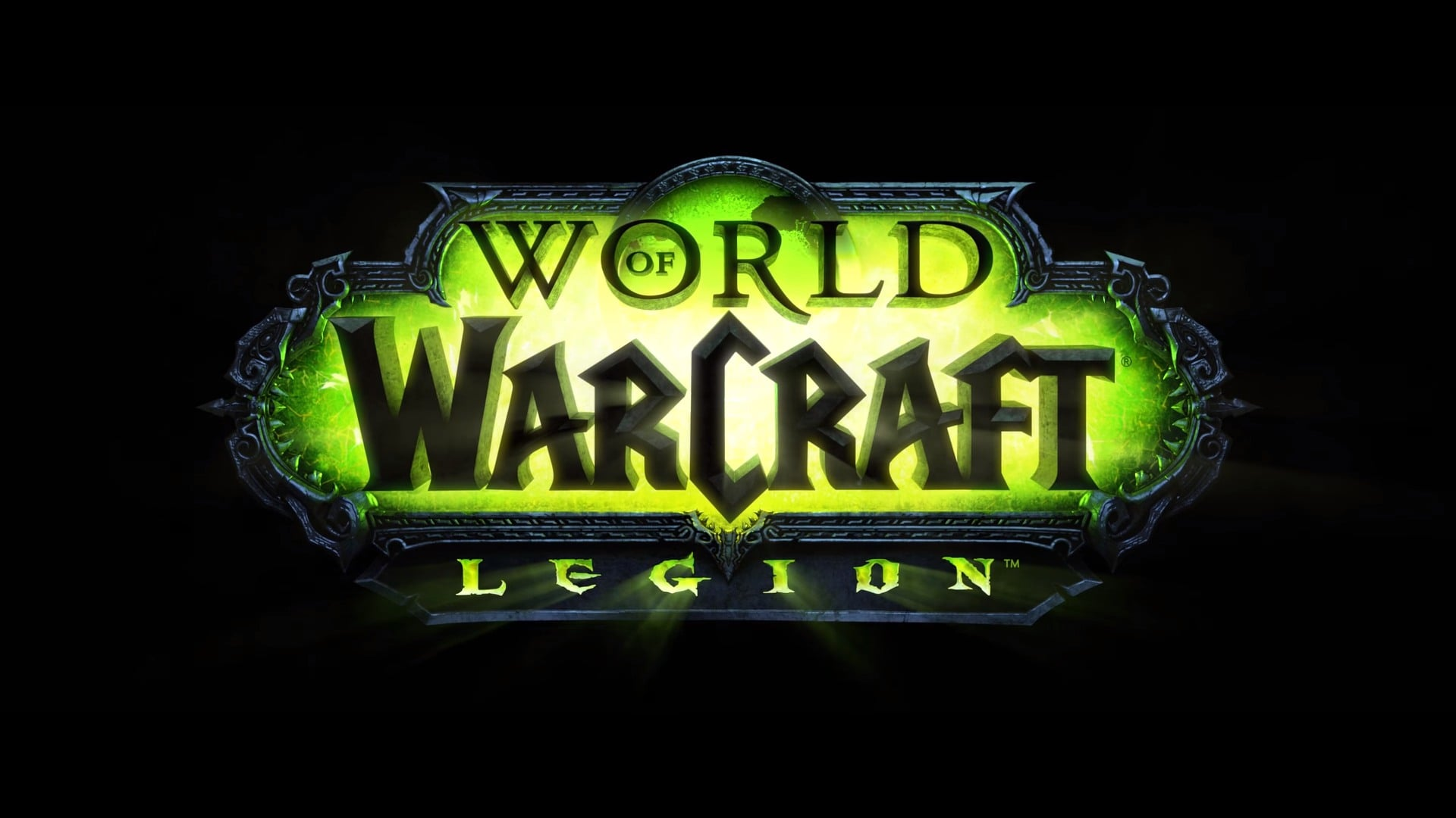 Full HD pics of World Of Warcraft Legion logo