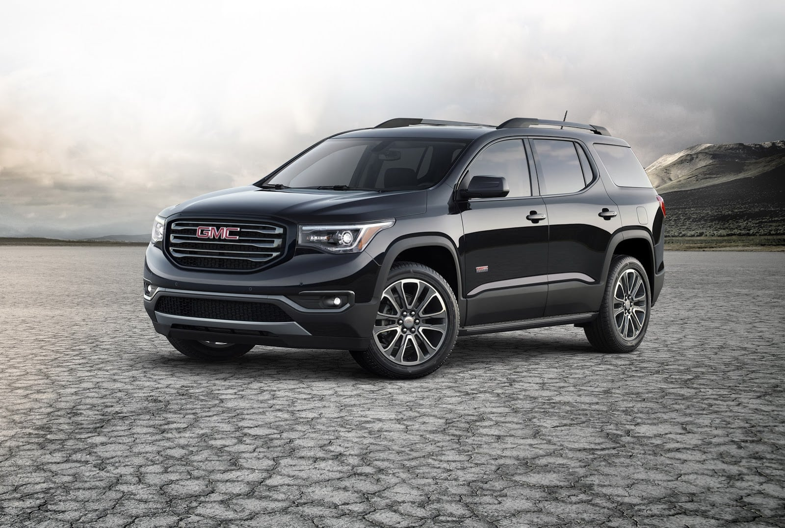 black 2017 GMC Acadia 1920x1080 wallpaper