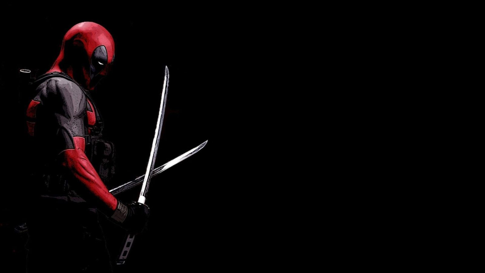 black Deadpool wallpapers