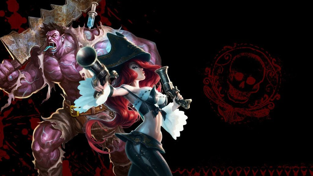 miss Fortune and Dr. Mundo League of Legends HD for desktop
