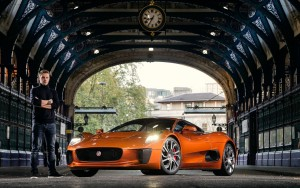 Pics of red Jaguar C X75 Lord Mayor