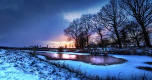 Best winter rural landscape wallpapers backgrounds