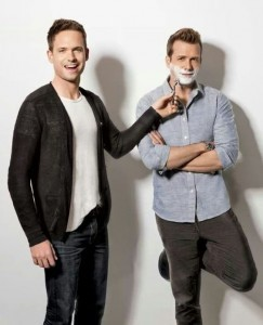 Gabriel Macht and Patrick J. Adams wallpaper