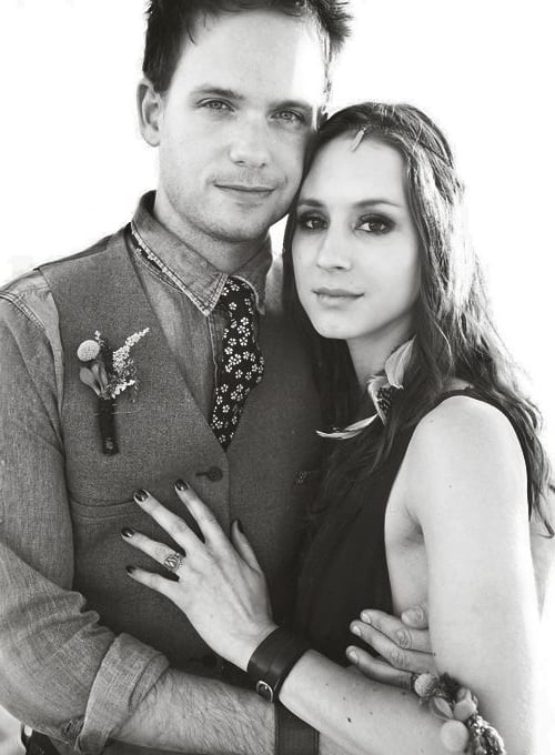 Z Patrick J Adams And Troian Bellisario