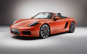 2016 Porsche 718 Boxster S front wallpapers