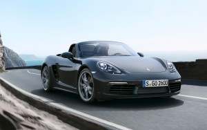 2016 Porsche 718 Boxster front wallpapers